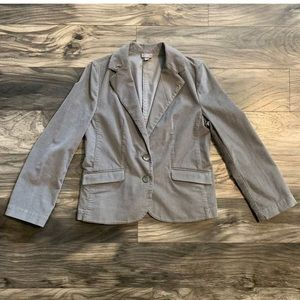 J jill womens size 10 stretch blazer jacket gray